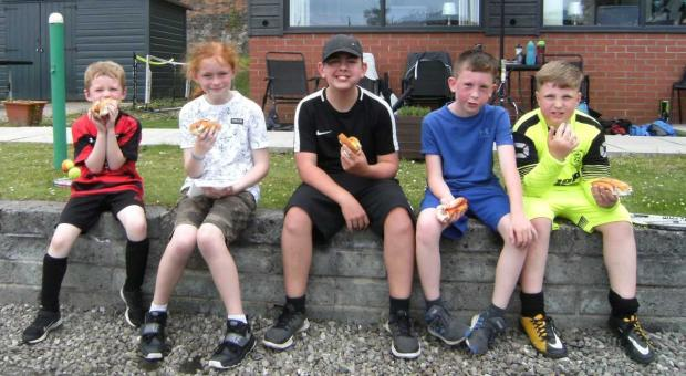 Dumbarton and Vale of Leven Reporter: Kirktonhill kids enjoyed the fun-filled day of tennis action