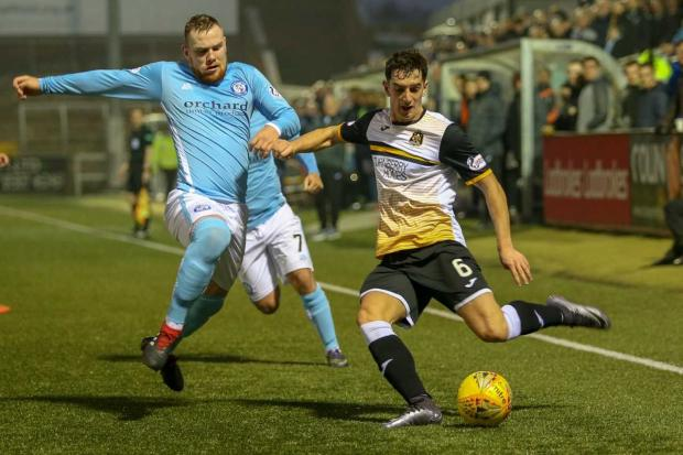 Dumbarton and Vale of Leven Reporter: Carswell has revealed that Dumbarton fans played a part in his decision to sign a new deal at the club