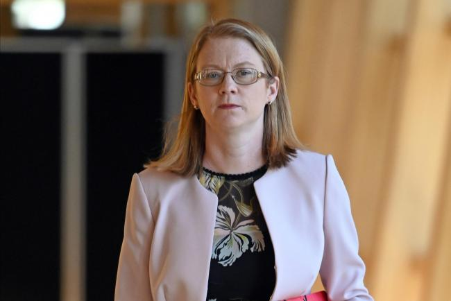 Shirley-Anne Somerville is the Scottish Government minister responsible for the Scottish Welfare Fund