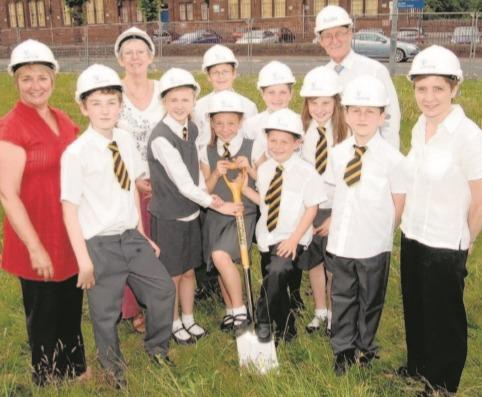 Archive Hour: Delight as work begins on new primary school