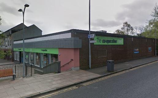 The Co-operative Food store in Alexandria's Mitchell Way, where Kirsty McCurley's shoplifting spree began in February (Pic - Street View)
