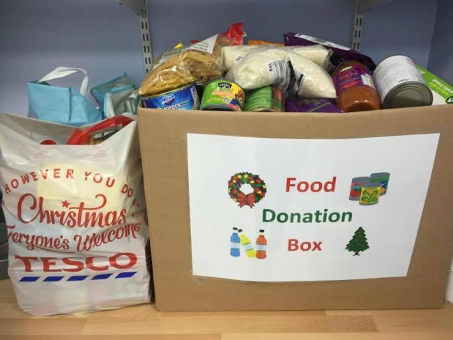 West Dunbartonshire Community Foodshare hopes local businesses will help them collect items for their Christmas appeal this year