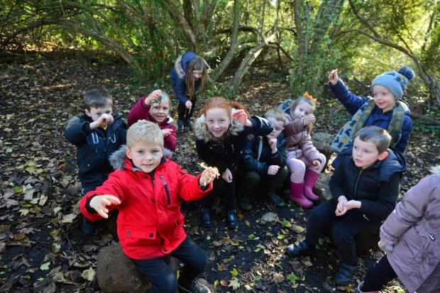 The Dumbarton ReporterOutdoor Day for kids at Bonhill Primary School. The RSPB and SSPCA did various different activities with Primary School children from Bonhill Primary.NB School requested no names.Kirsty Anderson Newsquest Herald and Times30/1