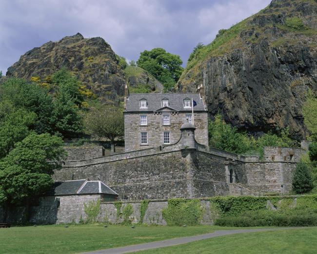 Dumbarton Castle's history goes back 1,500 years