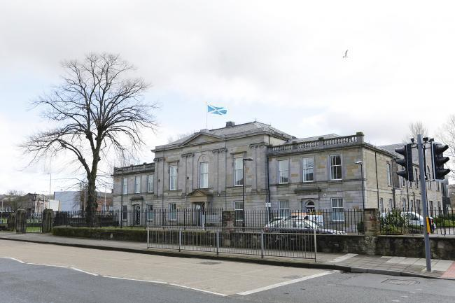The accused appeared at Dumbarton Sheriff Court