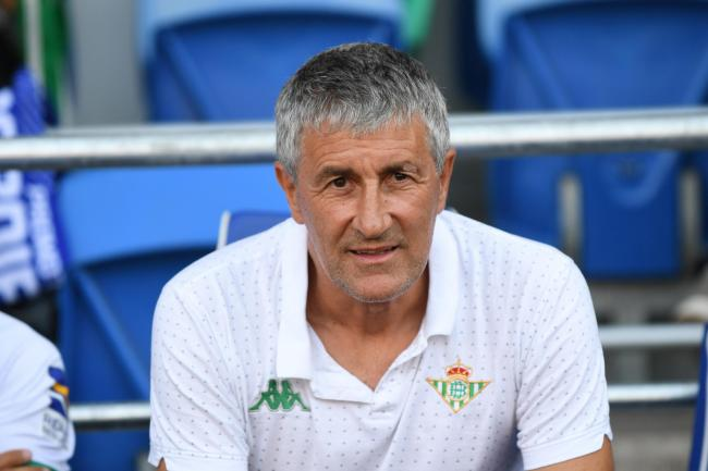 Barcelona manager Quique Setien was not pleased after his side struggled past Ibiza in the Copa del Rey