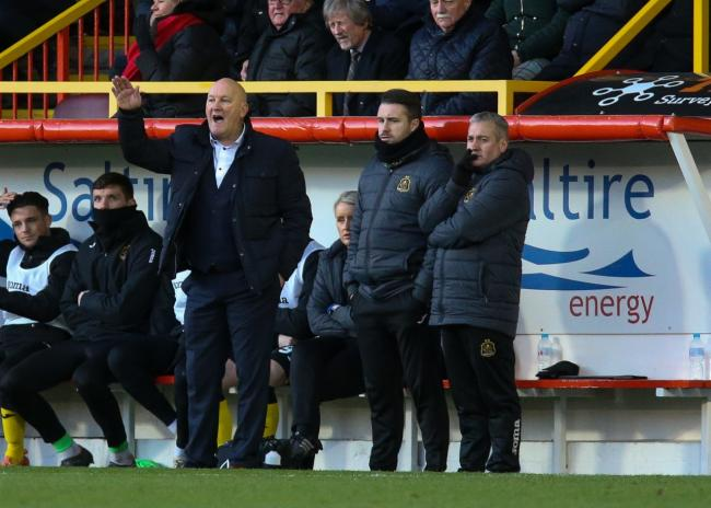 Jim Duffy was beyond proud of Dumbarton's spirited display up in Aberdeen Photo: Andy Scott