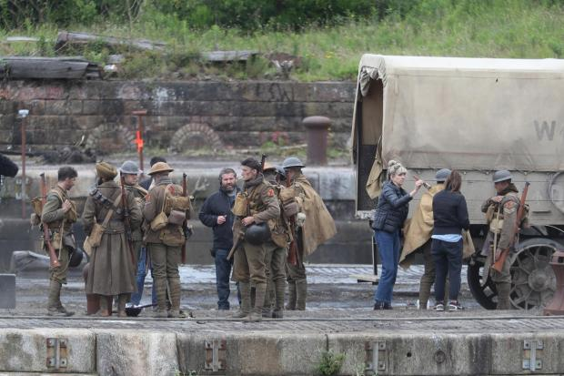 Dumbarton and Vale of Leven Reporter: Filming of 1917