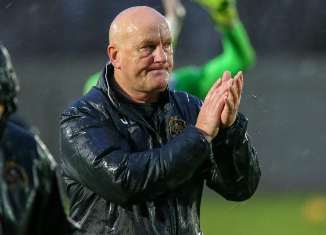 Jim Duffy, Dumbarton manager, has applauded football fans' efforts to fundraise £25,000. Pic: Andy Scott