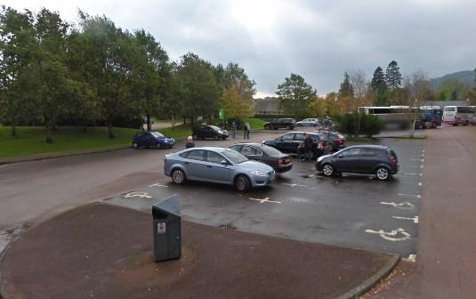 The council car park in Luss will not open to the public this weekend