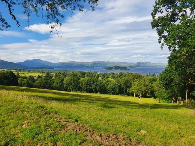 Loch Lomond and the surrounding hills, as pictured by Kevin Doherty
