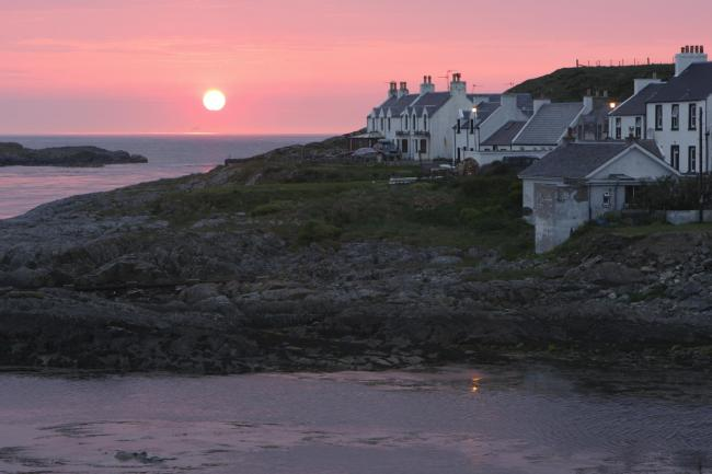 Portnahaven, Islay, Argyll and Bute, Scotland. (Photo by Peter Thompson/Heritage Images/Getty Images).
