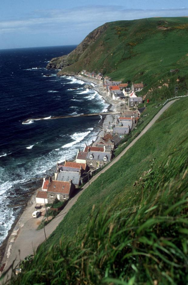 Dumbarton and Vale of Leven Reporter: Crovie, on the east side of Gamrie Bay, Aberdeenshire