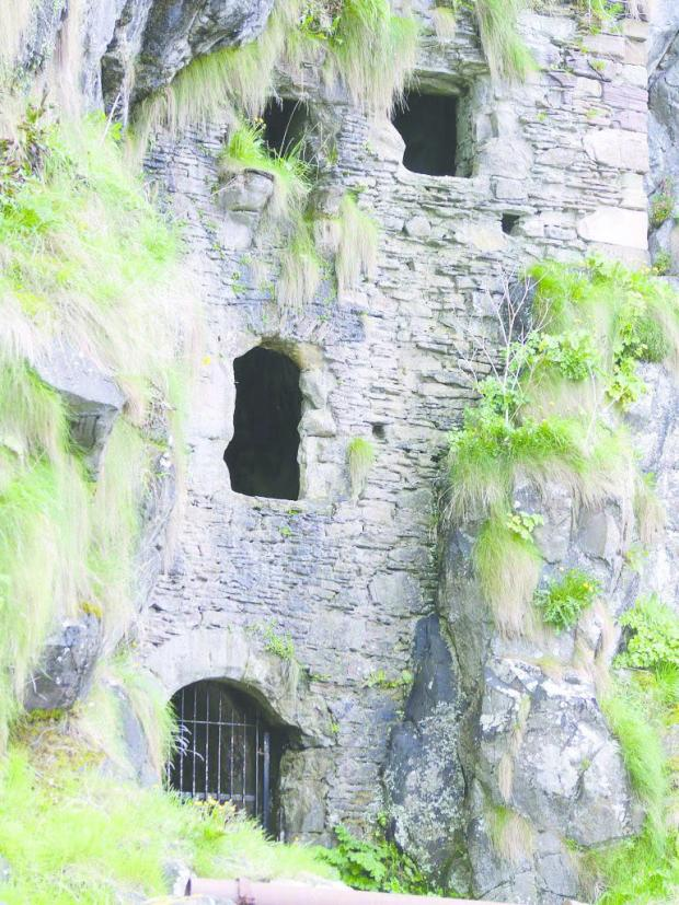 Dumbarton and Vale of Leven Reporter: Caves at Culzean Castle. Picture: National Trust for Scotland