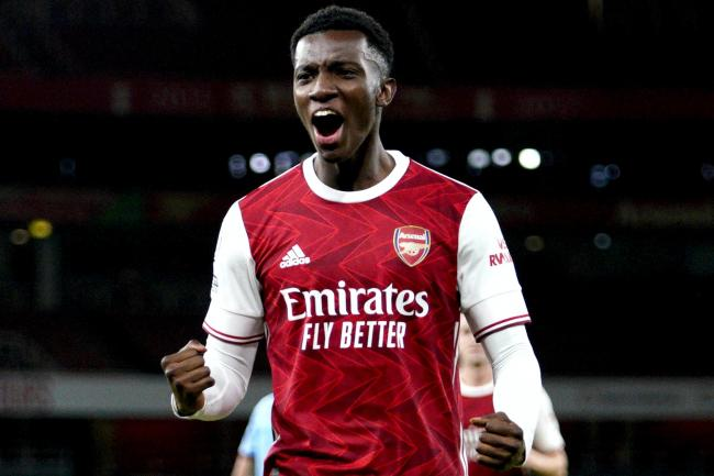 Eddie Nketiah was the match-winner for a below-par Arsenal