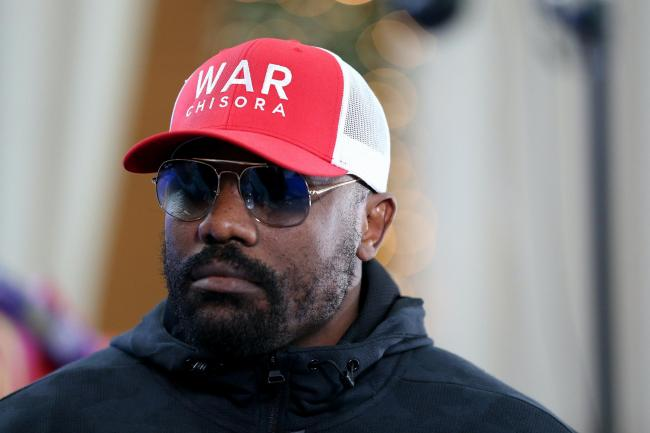 Dereck Chisora steps back into the ring at Wembley's SSE Arena on Saturday night