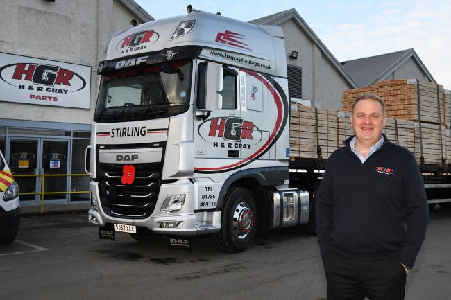 Robin Gray of H&R Gray Haulage