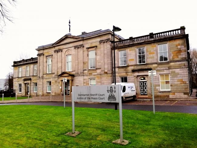 Dumbarton Sheriff Court held a hearing last month