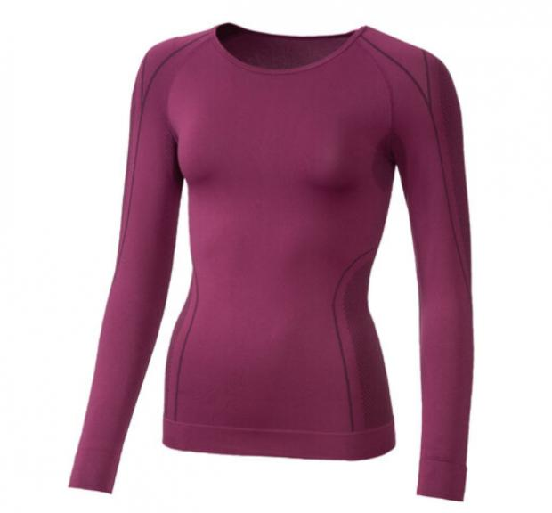 Dumbarton and Vale of Leven Reporter: Crivit Ladies' Seamless Thermal Long- Sleeve Vest. (Lidl)