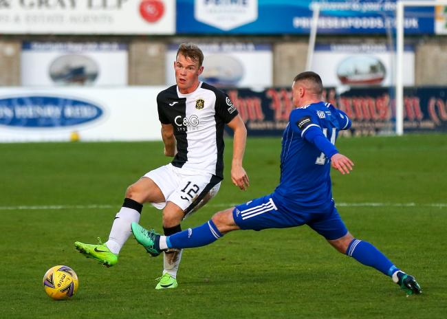 Dumbarton's record so far this season includes a 1-0 loss away to Peterhead on November 21 (Photo - Andy Scott)