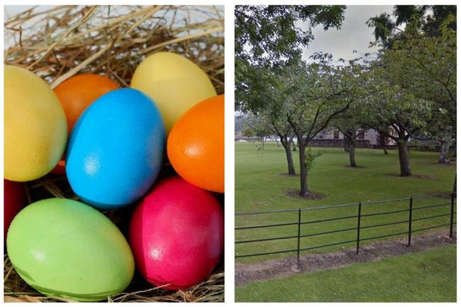 An easter egg hunt will take place locally this Easter Weekend