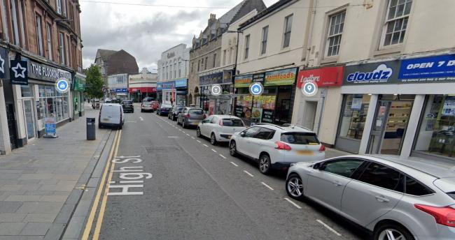 Police were called to investigate an incident on the High Street