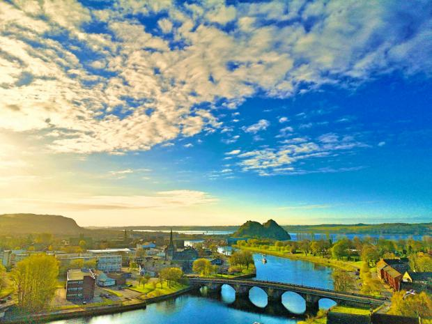 Dumbarton and Vale of Leven Reporter: Another fine morning by Tom Gardiner