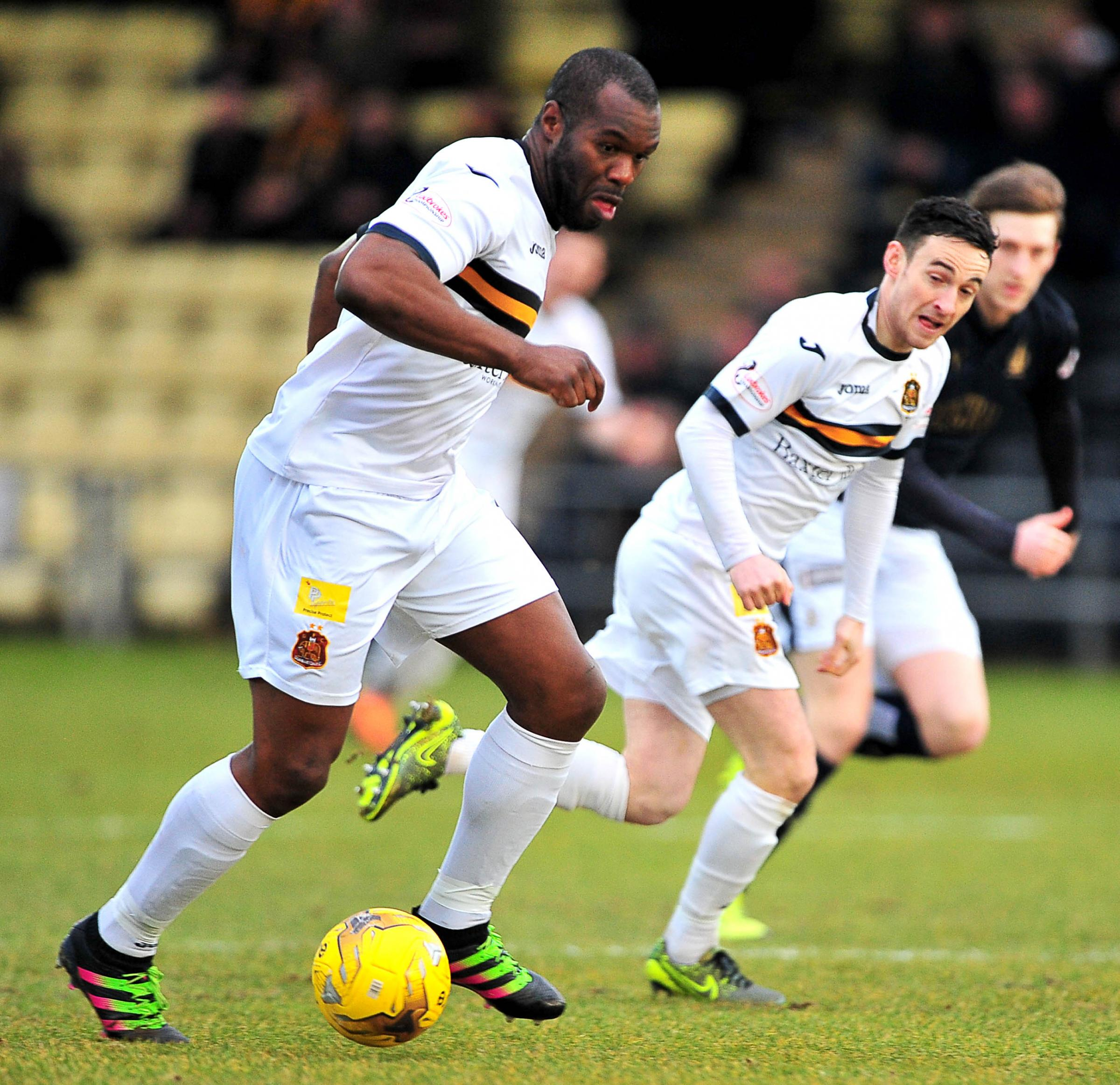 Aitken is planning for next season without Christian Nade (pictured) and Steven Saunders