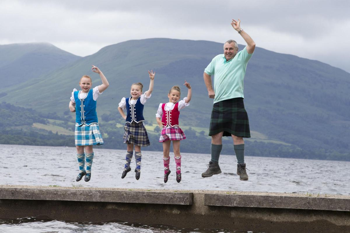 Heavyweight competitions, Highland Dancing and plenty of fun in store for  visitors to Loch Lomond Highland Games