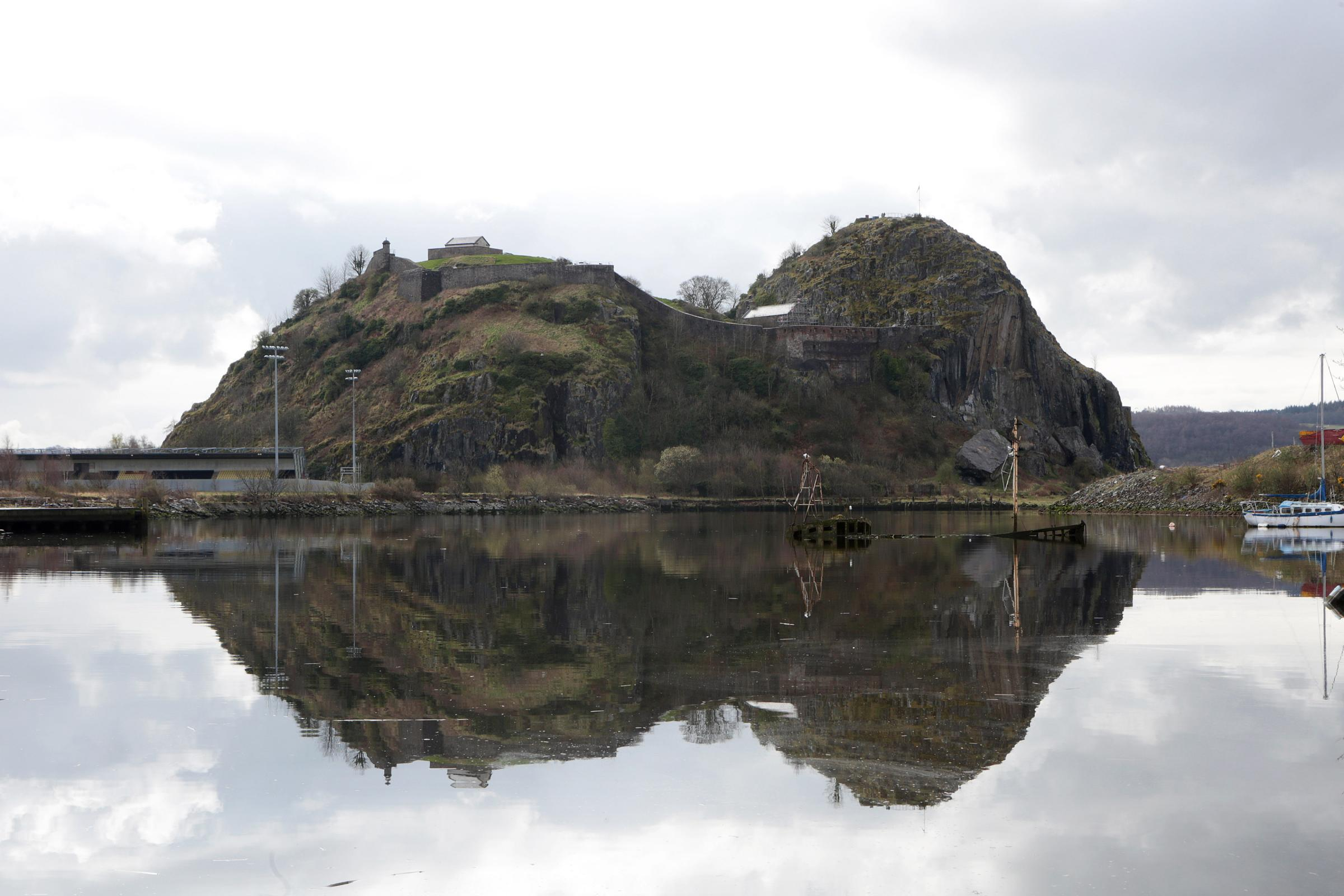 The event involves 13 miles of racing from Dumbarton Castle to the Finnieston Crane