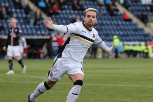 Raith Rovers loaneee Lewis Vaughan's allegiance is with Dumbarton on Saturday