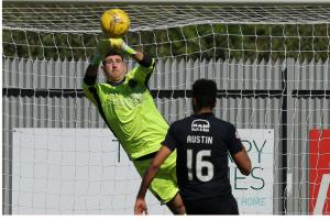 Goalkeeper Alan Martin and manager Stevie Aitken at odds over shot-stopper's future