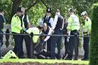 Police arrest 'man with knife' in vicinity of Buckingham Palace