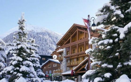 There's only one place to stay in Val d'Isère this season