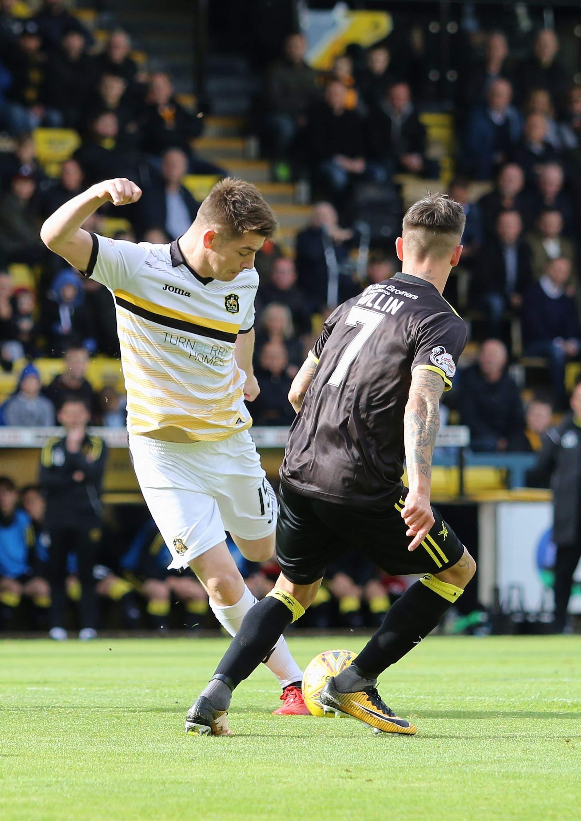 Dumbarton defender Dougie Hill frustrated after Livingston defeat