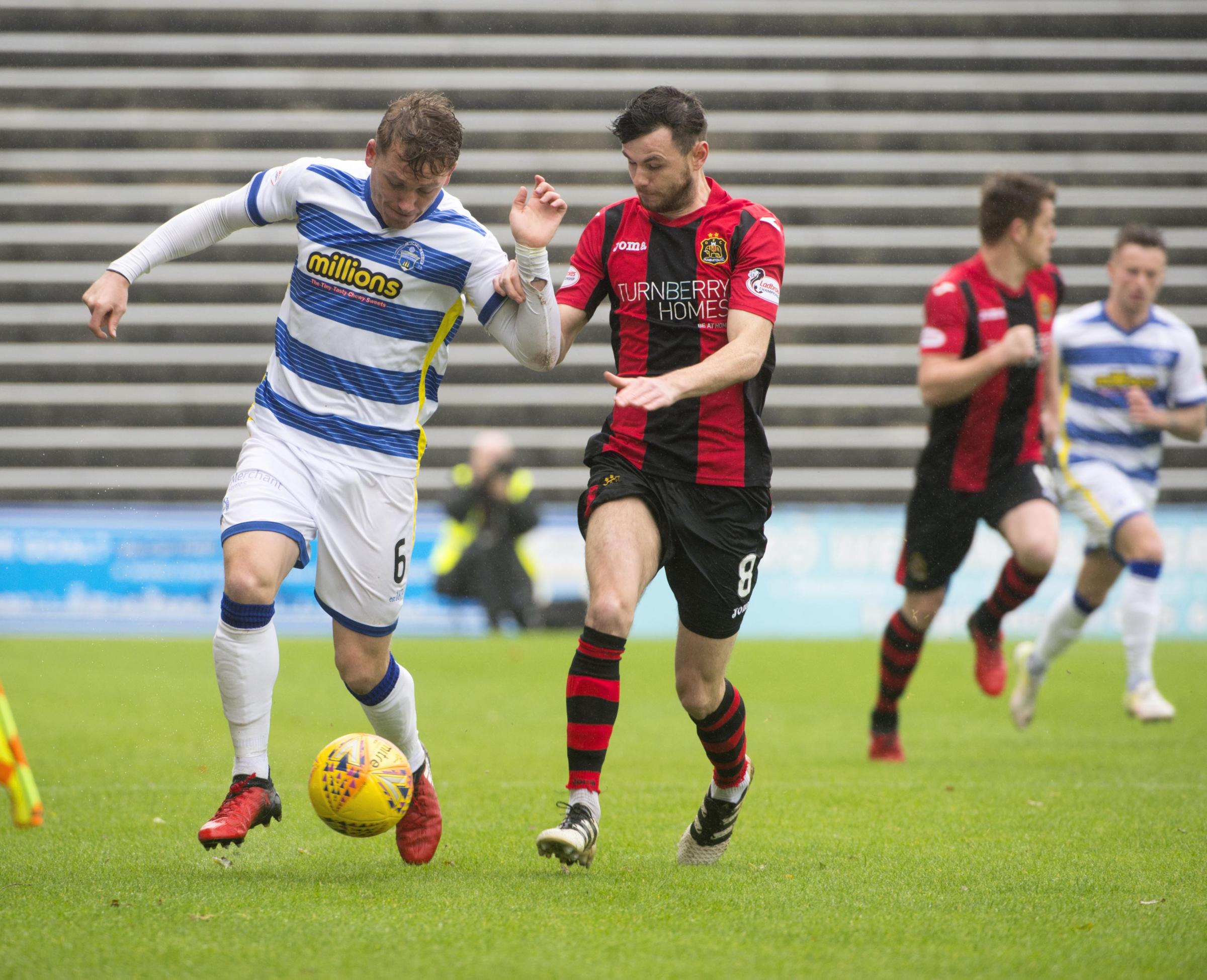 Greenock Morton 1 Dumbarton 1: Sons cling on for hard-fought point