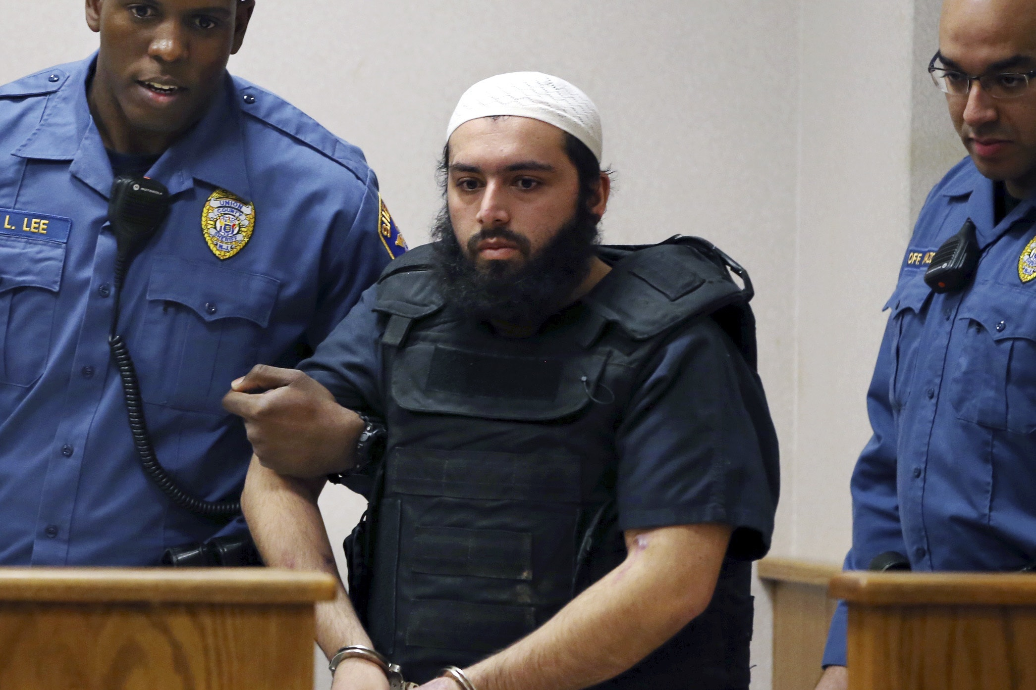 Ahmad Rahimi in court in Elizabeth, New Jersey (AP Photo/Mel Evans)