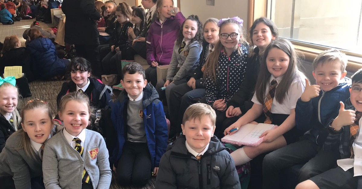Pupils from Bonhill at the Royal Concert Hall