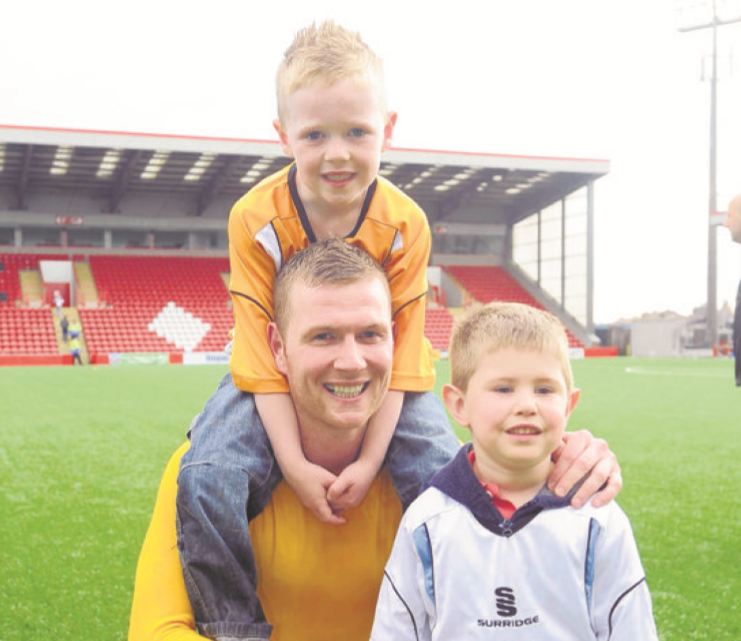 Bryan Prunty enjoyed his three years at Dumbarton