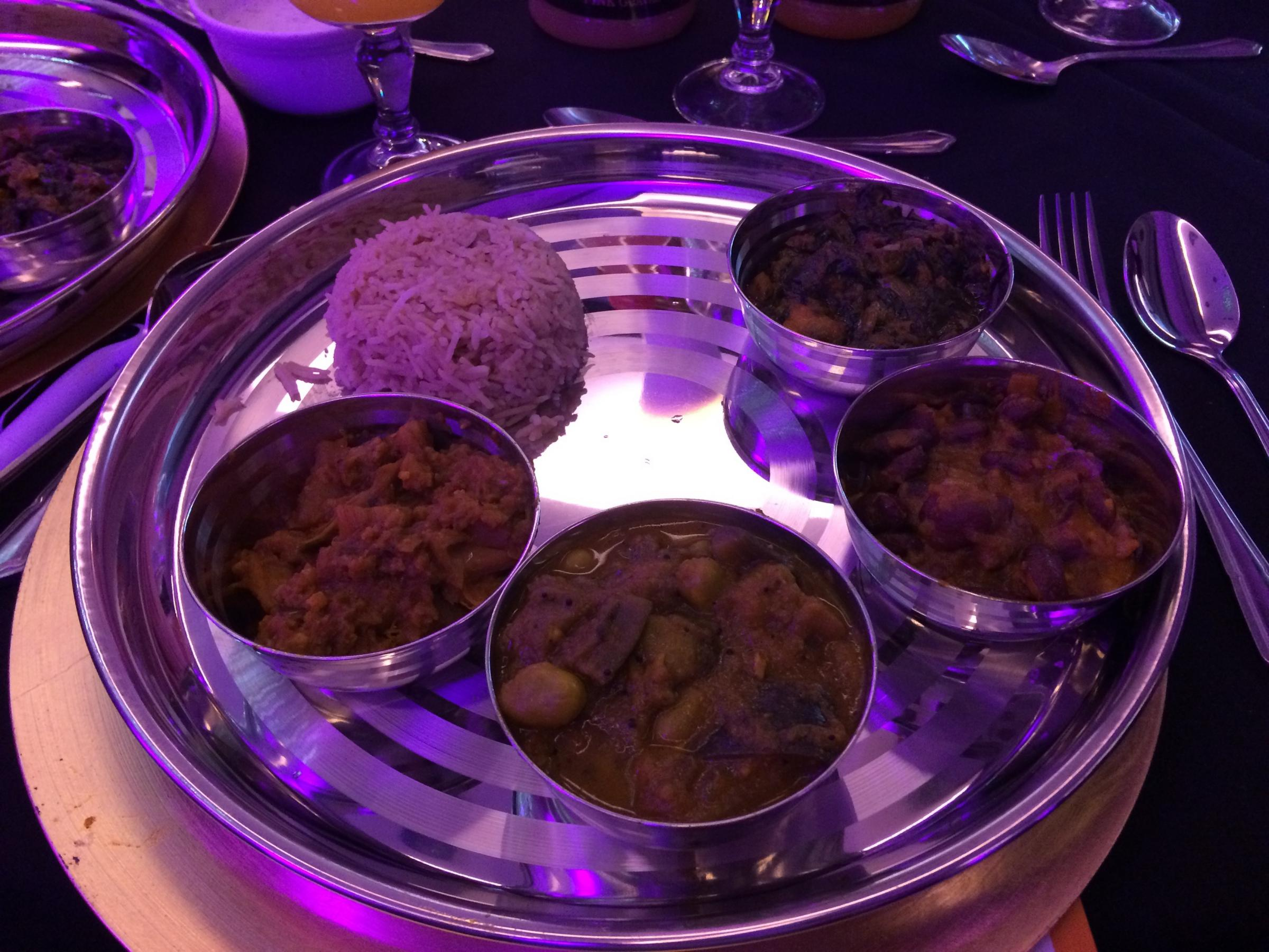 Failed to tikka the top prizes at curry awards