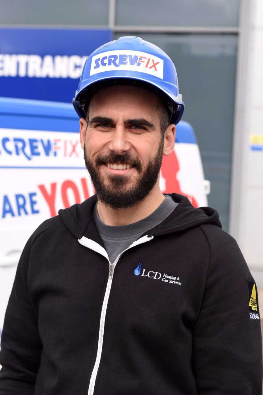 Lluis Dalmau, winner of last year's 'Britain's Top Tradesperson' title