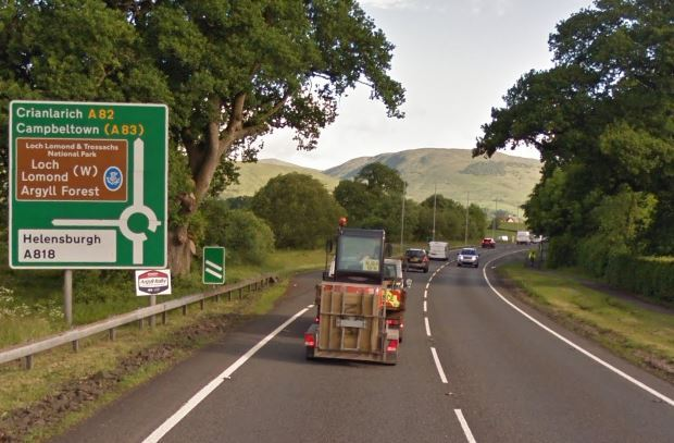 The A82 has reopened after a serious accident (Pic - Google Maps)