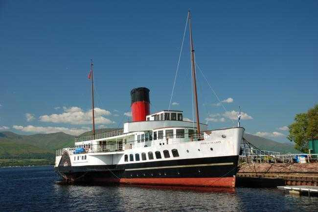 The goal is to return the boat to its former glory and have it sail on Loch Lomond once more