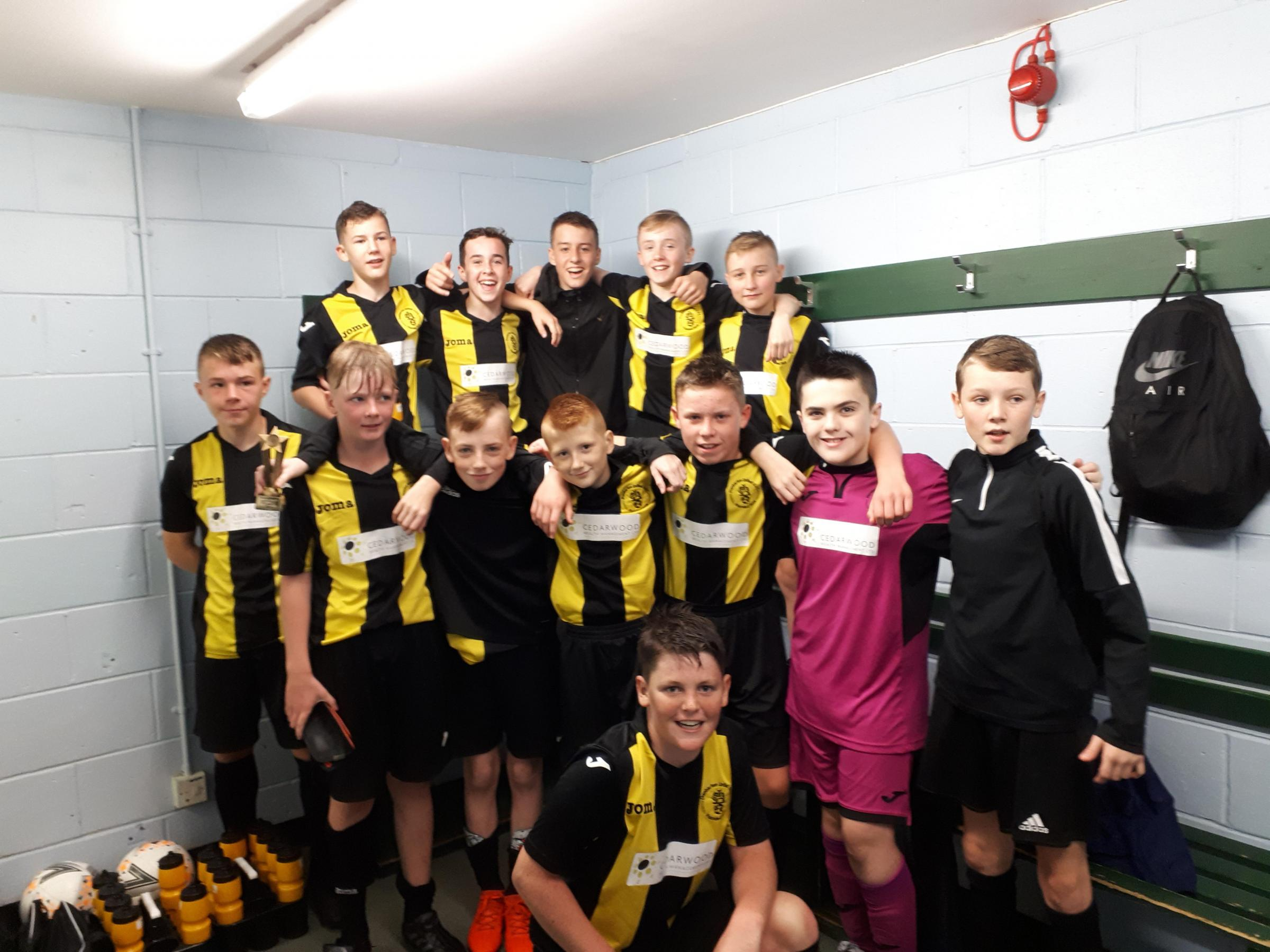 Dumbarton United 2005s