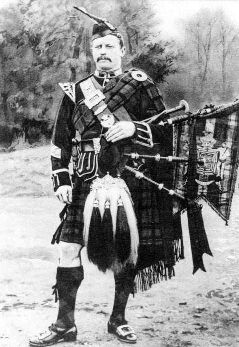 "Pipe major William Robb who composed ""The Battle's O'er"""