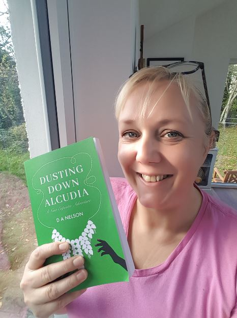 Dawn Nelson's new book, Dusting Down Alcludia, is out now