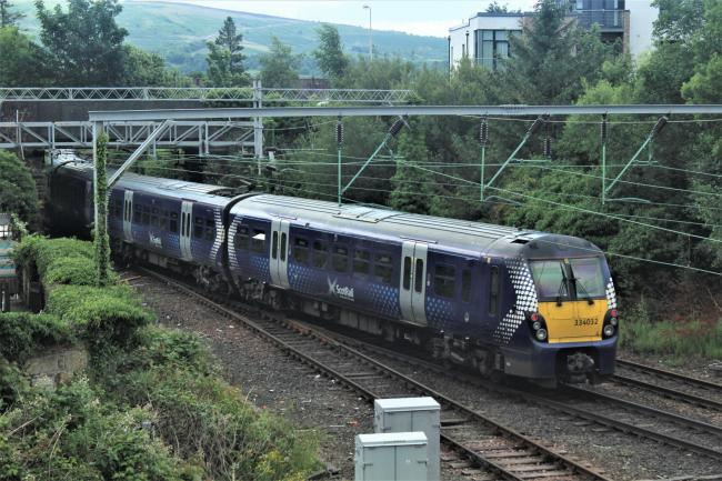 Delays are expected during Wednesday morning's rush hour because of a broken down train
