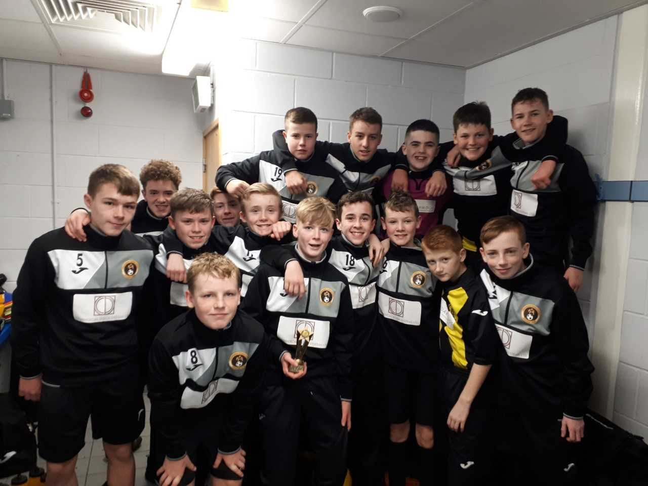 United 2005s continued their excellent form as they booked their spot in the last 32 of the Scottish Youth FA Cup