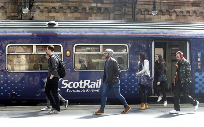 79 per cent of ScotRail users say they're satisfied with the company's service