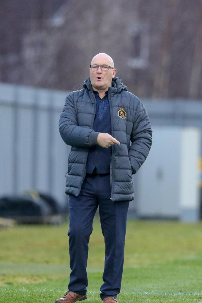 Frustrated Sons manager Jim Duffy       Photo: Andy Scott